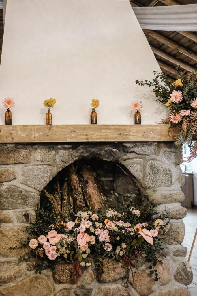 Dekoracja ślubna sala weselna Zaścianek Chwaszczyno